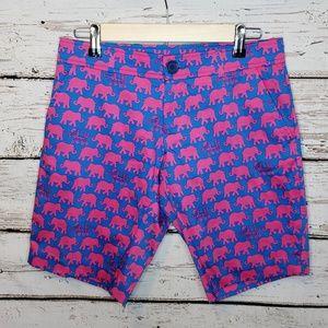 NWT Tracy Negoshian Elephant Print Shorts